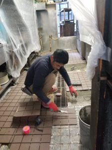 工事中 四谷中華料理店